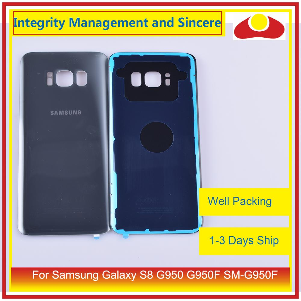 Image 5 - Original For Samsung Galaxy S8 G950 G950F SM G950F Housing Battery Door Rear Back Glass Cover Case Chassis Shell-in Mobile Phone Housings & Frames from Cellphones & Telecommunications