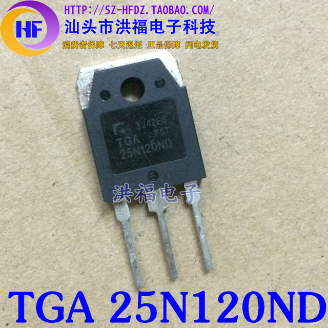 US $4 0 |IGBT TGA 25N120ND on Aliexpress com | Alibaba Group