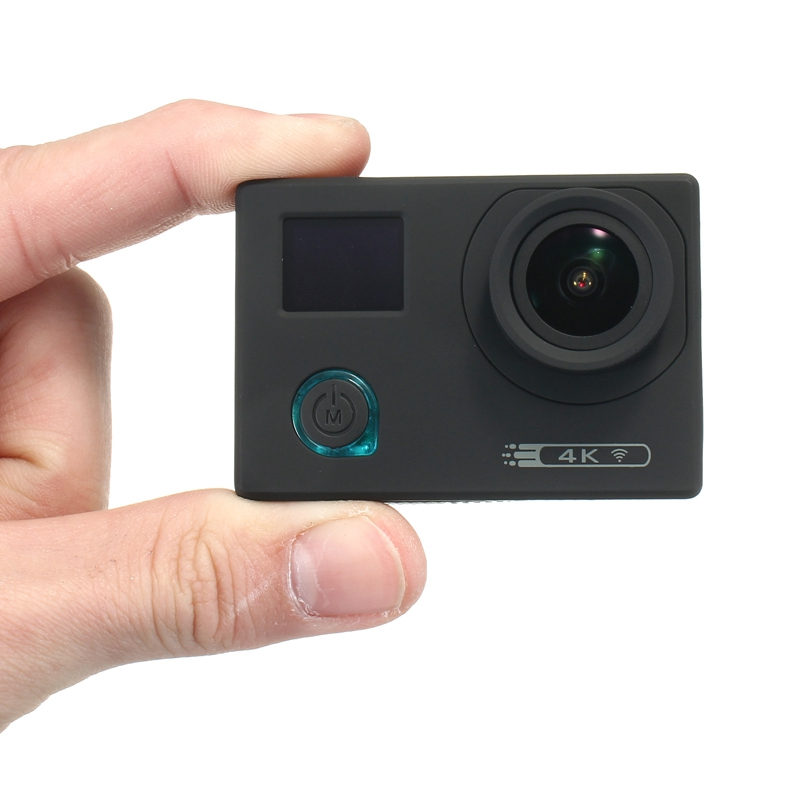 DV760S 4K Action Camera Novatek 96660 WIFI Sport DV 170 Degree Wide Angle Super Starlight Night Vision Waterproof 30M elephone ele explorer s 4k action camera black