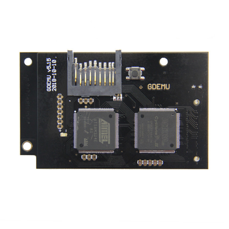 Optical Drive Simulation Board for DC Game Dreamcast Second Generation Built-in Free Disk replacement for Full New GDEMU GameOptical Drive Simulation Board for DC Game Dreamcast Second Generation Built-in Free Disk replacement for Full New GDEMU Game
