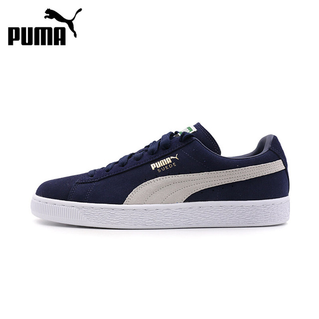 00f970ceff23 Original Puma Suede Classic Men s Hard-Wearing Skateboarding Shoes Sports  Anti-slippery Comfortable Sneakers for Women 356568