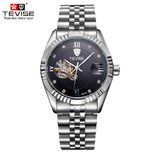 TEVISE Automatic Self-Wind 8391A Mechanical Watches Men Busi