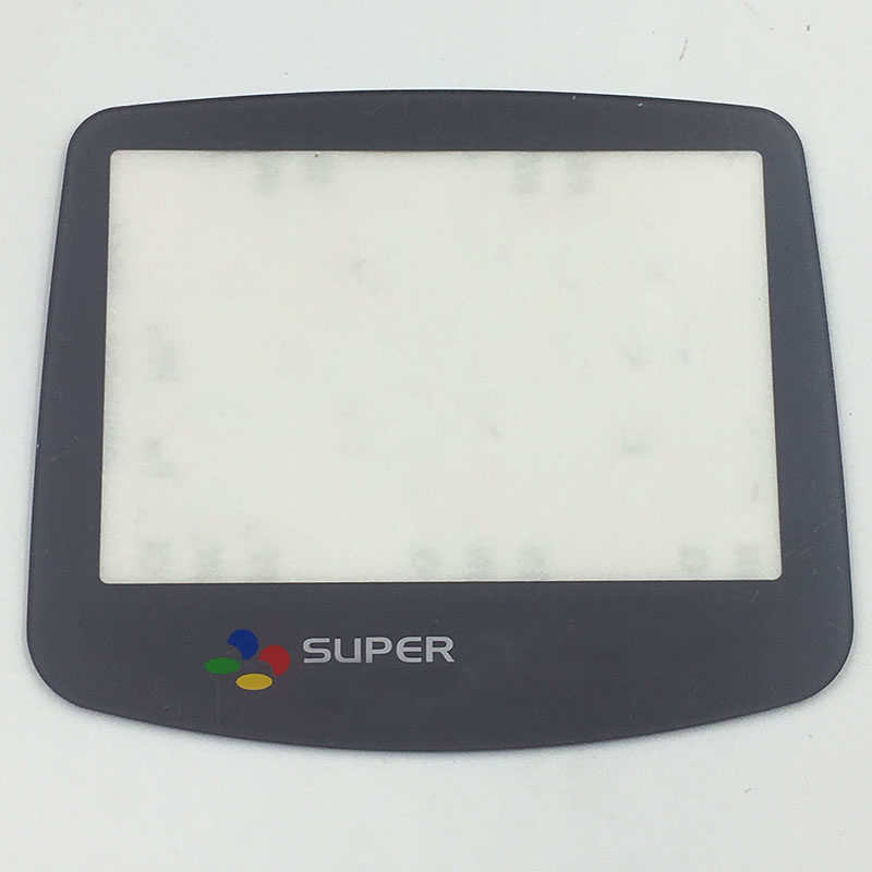 Glass Or Plastic For SFC Color Replacement Screen Lens For  Nintendo Game Boy Advance GBA Console