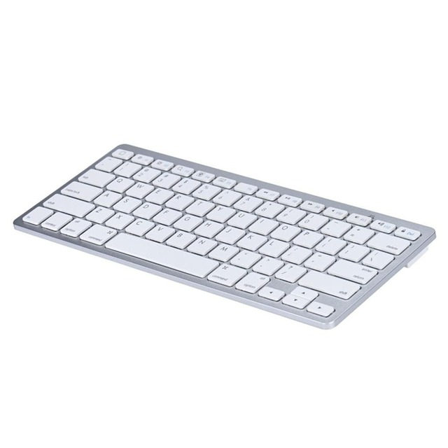 French Russian English Spanish Wireless Bluetooth 3.0 keyboard for Tablet Laptop Smartphone Support iOS Windows Android System 3