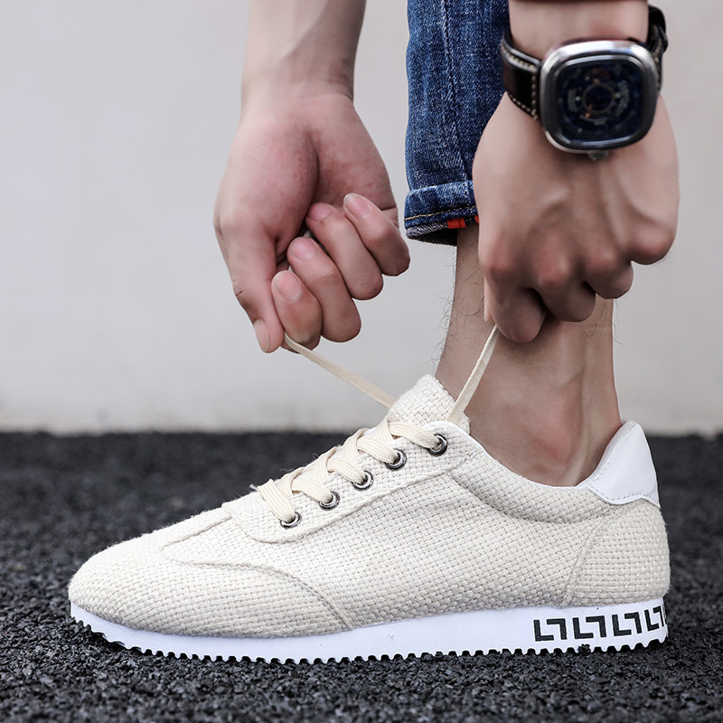 42a8a0447d0c Fooraabo Brand Men Sneakers Lightweight Mesh Adult Comfort 2018 Spring New  Male Casual Shoes Breathable Lace Up Krasovki For Men