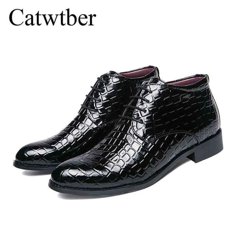 Noir Doux Homme Up Black Chaussures Robe Cuir Catwtber Confortable En black Plein Lace Split De Bottes D'affaires Air Hommes Mode Sneakers 0vvS6x1n