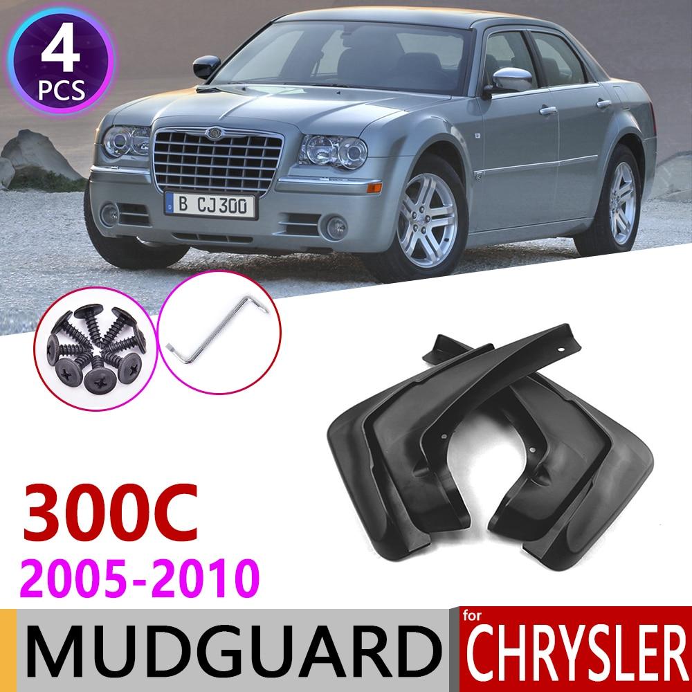 Front Rear Car Mudflap for Chrysler 300C 300 C 2005~2010 Fender Mud Guard Splash Flaps Mudguards Accessories 2006 2007 2008 2009|Car Stickers| |  - title=