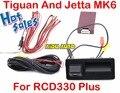 RCD330 Plus AV Invertendo Câmera de Visão Traseira Para VW Tiguan Jetta MK6