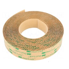 цена на 3M SJ4570 Low Profile Adhesive Fastener tapes Dual Lock 25.4mm/1-width Reclosable Fastener with Mushroom Stems Shaped Tape