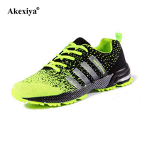 Fashion New Tide Men S Mesh Breathable Casual Shoes Flat Shoes Men Lace Up Comfortable Shoes