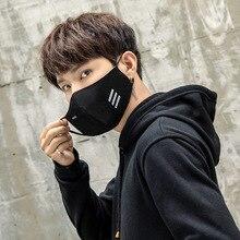 Мужчины Письмо Маски Анти PM2.5 Пыль Рот Маска С Активированным углем Фильтр Корейский Дыхание