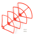 4 PCS Syma X8C/W/G X8HC X8HW X8HG Plastic Quadcopter Propeller Guard Protection Frame, Quadcopter Spare Parts