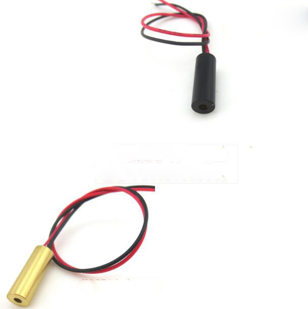 Laser Lamp Positioner Reasonable Dot-shaped Laser Tube Head Two-pole Module Red Light 650nm 5mw Laser Head