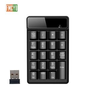 Image 1 - New Promotion 2.4G Wireless Digital Key Keyboard Suspension Mechanical Feel 19 Key Equipment Accounting Bank Keypad Report