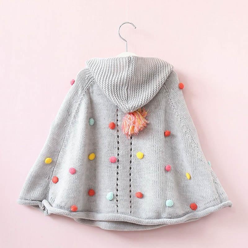 VORO-BEVE-2017-Autumn-Girls-Hooded-Hair-Ball-Knit-Children-Cloak-Kids-Clothes-Baby-Girls-Fashion-Sweater-Coat-Children-Clothing-1