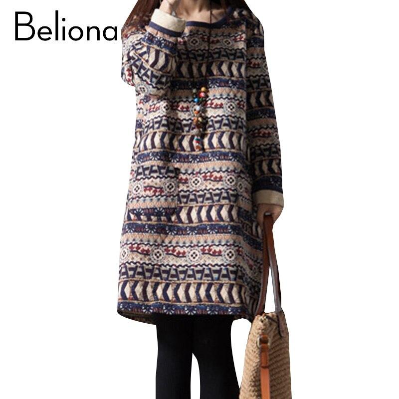 retro flojo vestido de maternidad otoo invierno de la vendimia ropa de maternidad para las