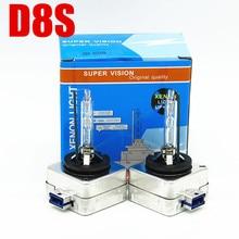 AFAECAR OEM D8S наборы ксеноновых фар дневного света 25 W (D8S Лампа Ксеноновая Лампа 6000 K 4300 K 8000 K