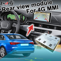 Rear view adapter interface for Audi 4G MMI A4 Q7 RCA signal input mirror link support