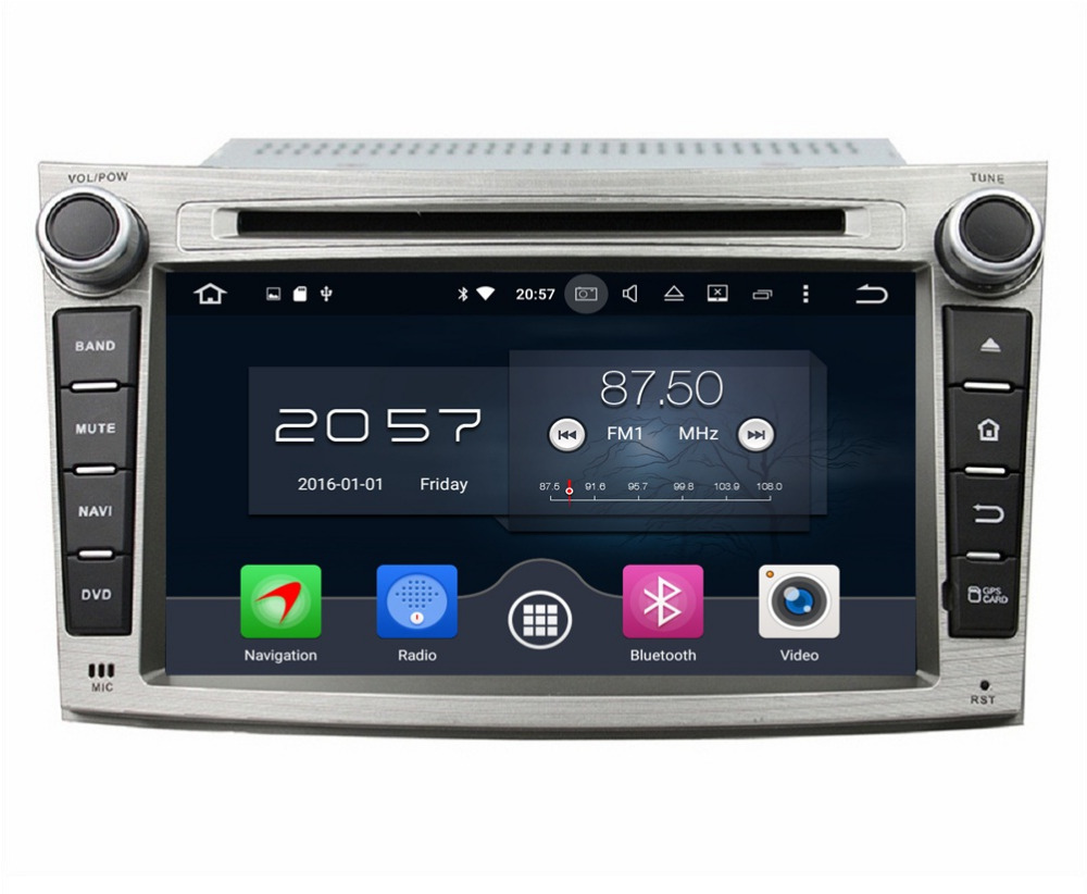 2GB RAM Octa Core 7 Android 6 0 Car Radio DVD Player for Subaru Legacy Outback