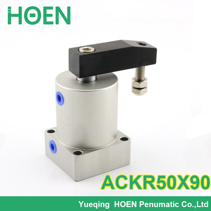 ACK50-90L ACK50-90R ACK series 50mm bore Twist Clamp Cylinder Rotary pneumatic cylinder  ACK 50-90L  ACK 50-90R