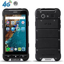 """Ultra Delgado Teléfono Impermeable A Prueba de Choques Resistente teléfono Android 2 GB RAM 4.7 """"4G LTE Smartphone Dual Sim GPS del teléfono móvil de Cuatro Núcleos"""