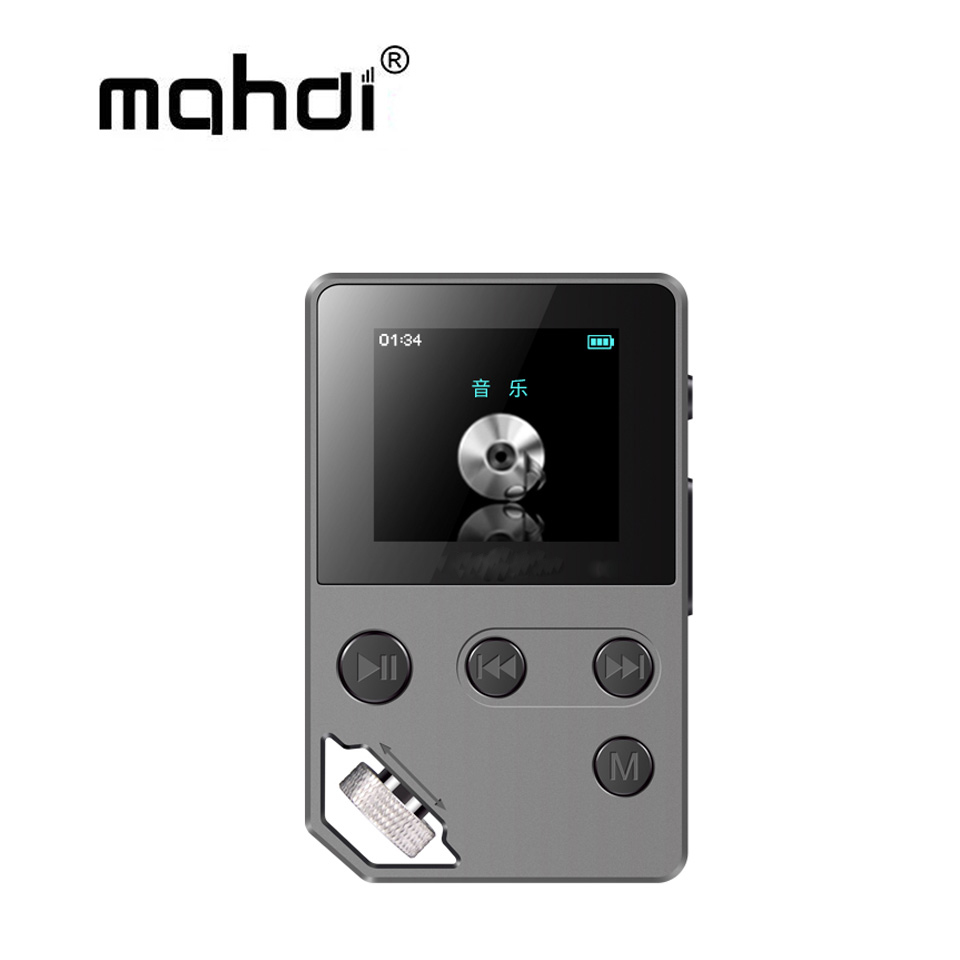 Mahdi M370 Entry-level HIFI Music Player 8G Alarm Clock FM Radio E-Book Recording Support TF Card Metal Flac MP3 Player green for ipod nano3 3th generation 32gb fm video e book with film mp3 5 music player free ship a variety of language