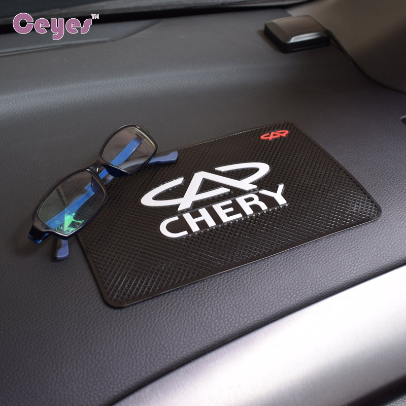 Ceyes Car Styling Excellent Auto Mat Emblems Auto Interior Accessories Case For Chery Tiggo 5 Fulwin A1 A3 Car-Styling Stickers