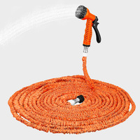 175FT Garden Hose Expanding Magic Flexible Watering Hose Plastic Hoses Pipe With Spray Gun Tube Hoses to Watering