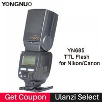 YONGNUO YN685 GN60 2 4G Wireless System TTL HSS 1 8000S Speedlite YN685C YN685N With Radio
