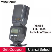 YONGNUO YN685C YN685N Blitz Speedlite GN60 Wireless System TTL HSS 1/8000 S Radio Slave YN685 für Canon Nikon YN622N YN622C-TX