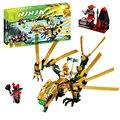 Bela 9793 El Dragón de Oro Compatible con Bloques Huecos de Ladrillos Bloques para niños Juguetes de construcción Lepin 70503
