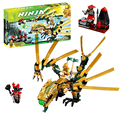 Bela 9793  The Golden Dragon building Blocks Bricks for children Toys Compatible with Decool Lepin 70503
