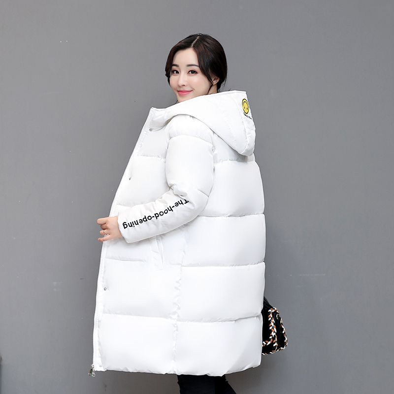New Winter Jacket Women Hooded Thicken Coat Female Fashion Warm Outwear Down Cotton-Padded Long Wadded Jacket Coat Parka WU10 new winter women lady thicken warm coat hood parka long jacket overcoat outwear