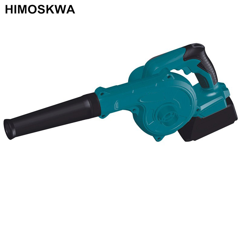 HIMOSKWA Rechargeable Cordless Blower such Fan Portable Lithium Hair Dryer Computer Blower Vacuum fan himoskwa outdoor barbecue iron gear hand crank blower hand fan manual fire blower popcorn fan
