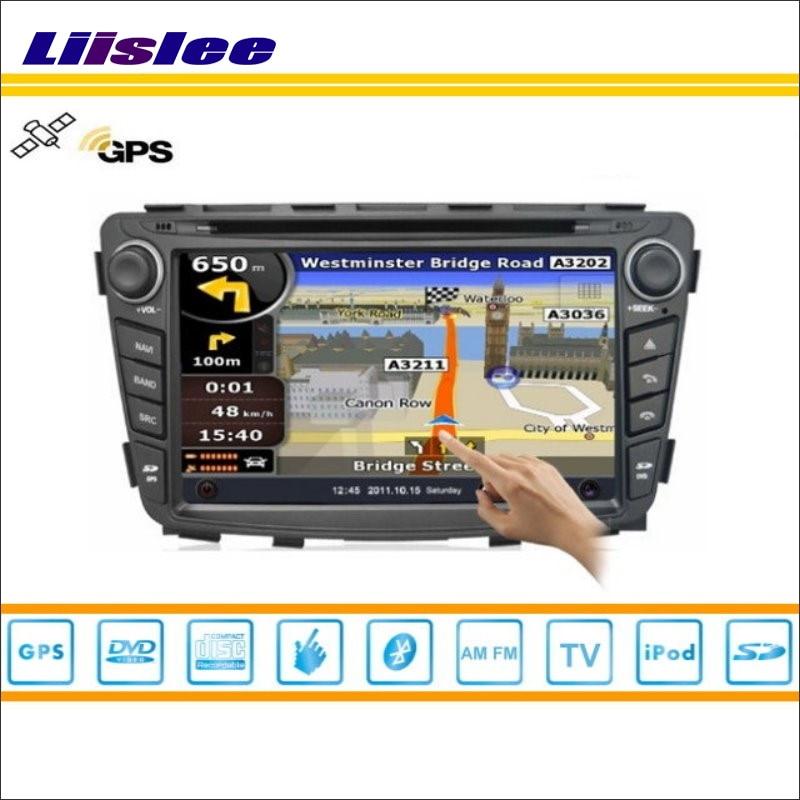 Liislee Für Hyundai Solaris 2011 ~ 2013 Auto Radio Audio Video Stereo CD DVD Player GPS Karte Navi Nav Navigation multimedia System