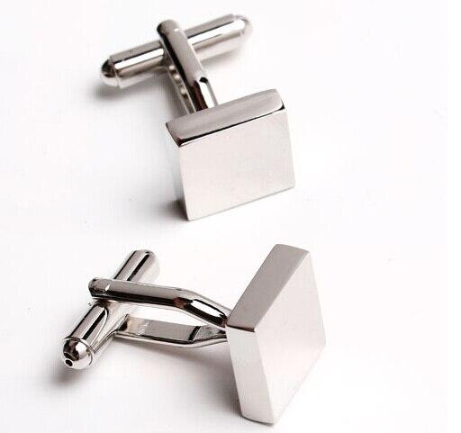 Bezmaksas piegāde Metāla aproču pogas loka matēta aproču pogas - Modes rotaslietas - Foto 4