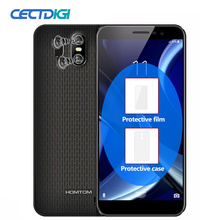 Смартфон HOMTOM S16 18:9 с безрамочным дисплеем, 5,5 дюймов, Android 7,0, 3000 мА/ч, 2 Гб ОЗУ, 16 ГБ, MT6580, четырехъядерный, 13 МП, отпечаток пальца, мобильный телефон