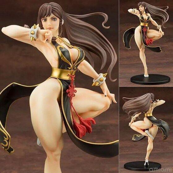 Kotobukiya Street Fighter Chun Li Figures Sexy Girl Toy Model 23cm