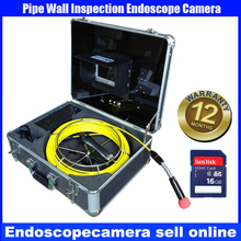 50m Mining operations and equipment detector with Endoscope pipe camera with SD card DVR recorder