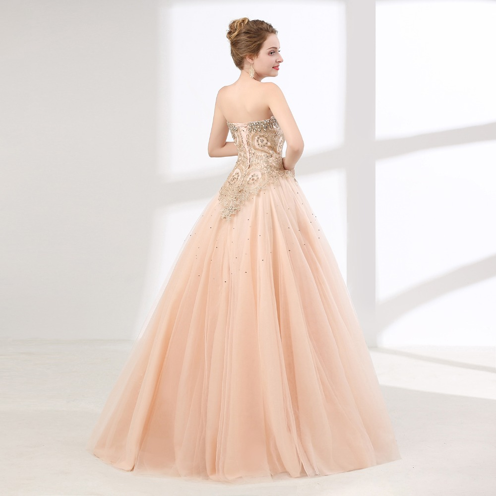 ANGELSBRIDEP Pink Quinceanera Dresses Tulle Crystal Beaded Masquerade Ball  Gown Women Formal Debutante Gowns Vestidos De 15 Anos-in Quinceanera Dresses  from ... 738ec25f6212