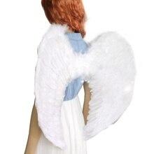 Ангел Перья Крыла Хеллоуин Костюм Косплей Одеваются Одежда Для Взрослых Детей