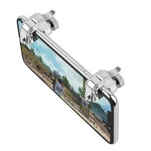 Image 4 - Yubeter 携帯ゲームトリガー携帯用 pubg 目的キー L1R1 シューター火災ボタンのための iphone のスマートフォン