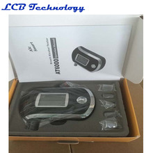 Hot Sale AT-6000 New Digital Breath Alcohol Tester Analyzer Breathalyzer high-accuracy with mouthpiece 4PC/LOT