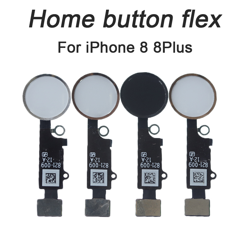 HOUSTMUST Brand 1 Pcs Home Button With Flex Cable For IPhone 8 8 PLUS  Black/White/Gold Home Flex Assembly