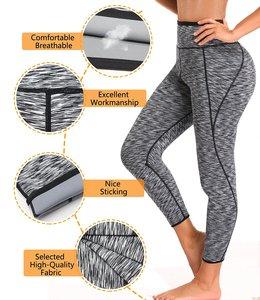 Image 5 - NINGMI Fitness Tights Neoprene Hot Pants Sweat Sauna Waist Trainer Control Panties Sexy Butt Lifter Slimming Legging with Pocket