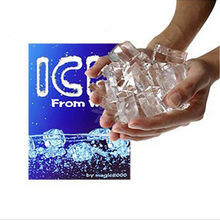 2017 NEW Magic Trick Water changes ice Frozen hands Close-up Close-ups Tricks Transparent Ice