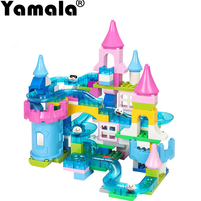 [Yamala] New Arrival Building Brick Set City DIY Creative Toys For Kid Educational Bulk Brick Compatible With legoingly duplo superwit 72pcs big size city diy creative building blocks brick compatible with duplo sets lepin educational toys children gifts
