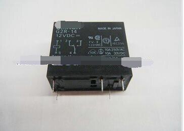 50pcs ,New original OMRON relay G2R-14-12VDC G2R 12V [zob] new original omron omron beam photoelectric switch e3jk tr12 c 2m 2pcs lot