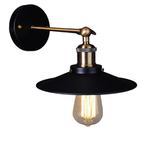 Vintage Wall Lamp Loft Light Sconce Luminaire Black Abajur Luminaria For Bedroom Living Room Indoor Industrial