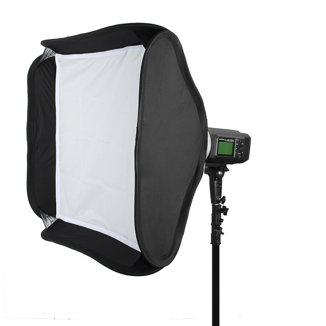 Godox Softbox 80 x 80cm Portable Collapsible Softbox Diffuser with Bowens Mount Speedring BPS80 for Godox AD600BM AD600B
